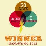 My NaNoWriMo page