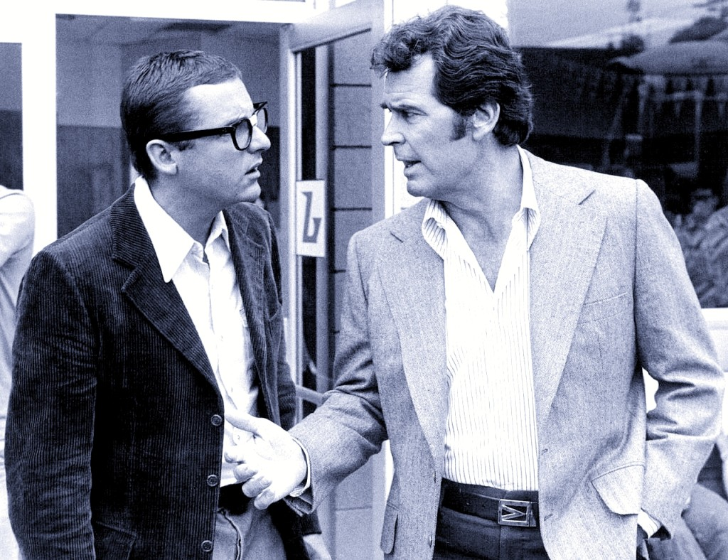 James Whitmore Jr and James Garner