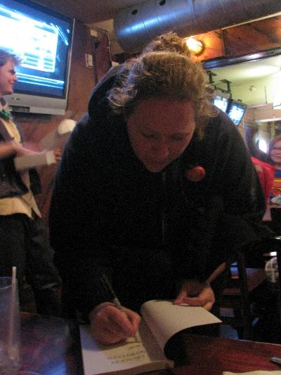 """Vanessa Ricci-Thode autographs """"Dragon Whisperer"""""""