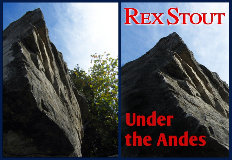 "Before and After: ""Under the Andes"" cover art"